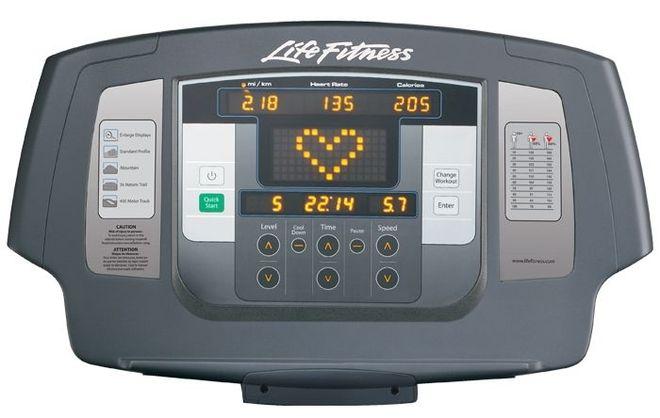 Монитор беговой дорожки Life Fitness