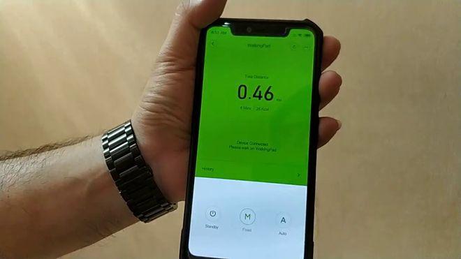 Европейское мобильное приложение для Xiaomi Walkingpad