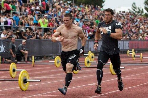 Бег и силовая тренировка
